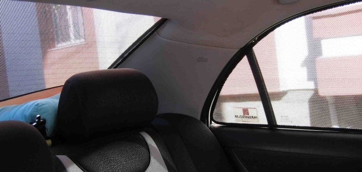 Car sunshades